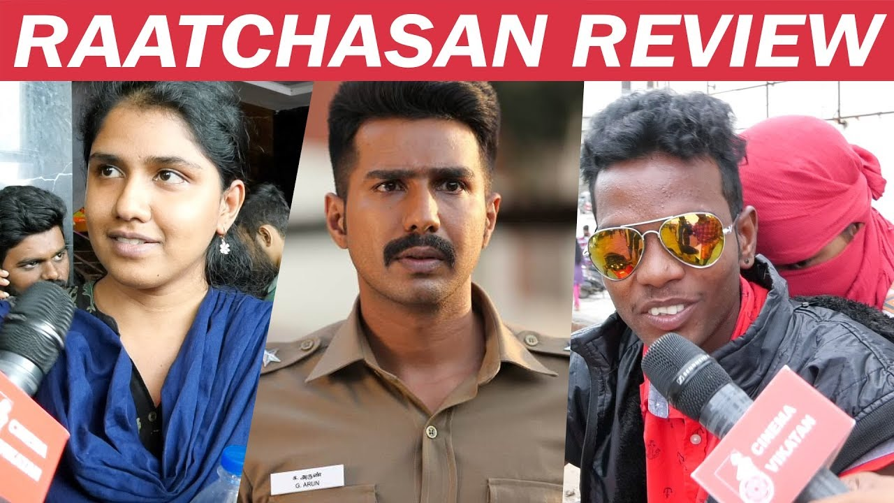 Raatchasan Review FDFS   Vishnu Vishal   Amala Paul