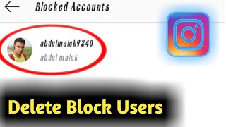 How to Delete Instagram Blocked Users