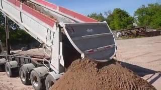 Raglan Slide Dump Trailer.