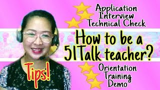 6 Steps To Be A 51Talk Teacher (May 2019) (Detailed tutorial)