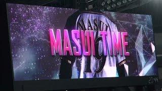 170412ファイターズ増井浩俊登場時の「MASUITIME」ビジョン映像