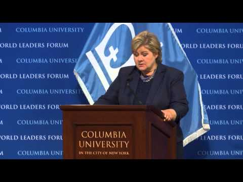 World Leaders Forum: Erna Solberg, Prime Minister of the Kingdom of Norway