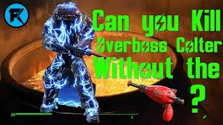 Fallout 4 | Can you Kill Overboss Colter Without The Thirst Zapper?