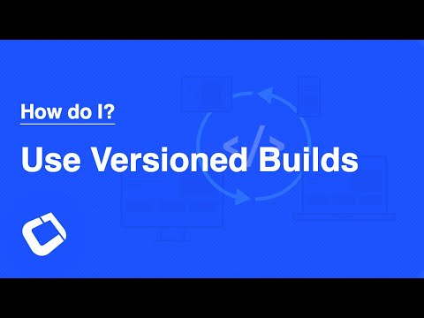 Get repeatable builds? Build against a consistent version of Codename One? Use The Versioning feature?