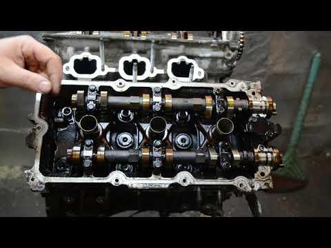 Разбор двигателя VQ20 nissan плюс зксперимент с распредвалом