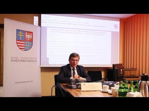 XXII sesja Sejmiku Województwa Świętokrzyskiego
