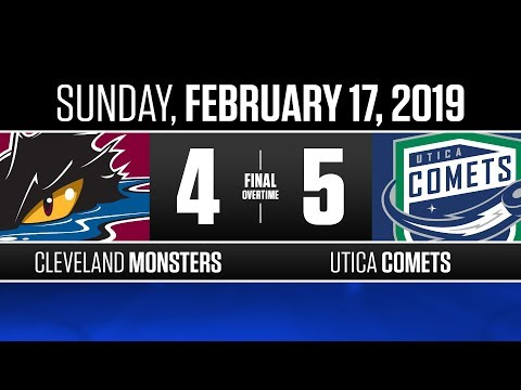 Monsters vs. Comets | Feb. 17, 2019