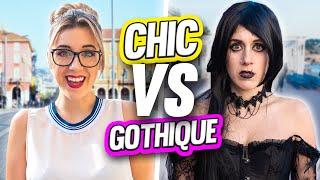 CHIC VS GOTHIQUE pendant une journée (Prank) | DENYZEE