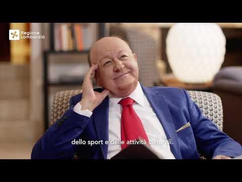 Massimo Boldi spiega i nuovi aiuti economici di Regione Lombardia