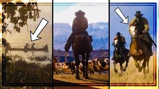 RED DEAD REDEMPTION 2 TRAILER BREAKDOWN! EVERYTHING YOU MISSED!