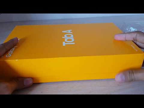 Samsung Galaxy Tab A 10.5 unboxing | Samsung Tab a 10.5 | latest Samsung Galaxy tab A 10.5 hands-on