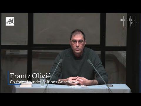 Matinale Documentaire Adultes du 17 mai 2018 - Frantz Olivié, éditions Anacharsis