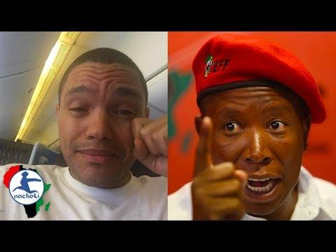 Julius Malema Gives Epic Clap Back to Trevor Noah's Disparaging Joke