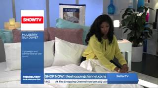 Mulberry Silk Duvet on The Shopping Channel