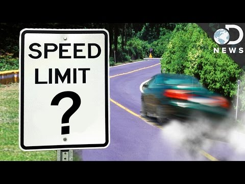 How Do We Decide Speed Limits?