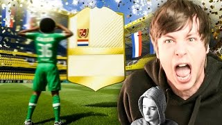 MY PACK LUCK IS AMAZING!! - FIFA 17 LEGEND PACK OPENING TOTY