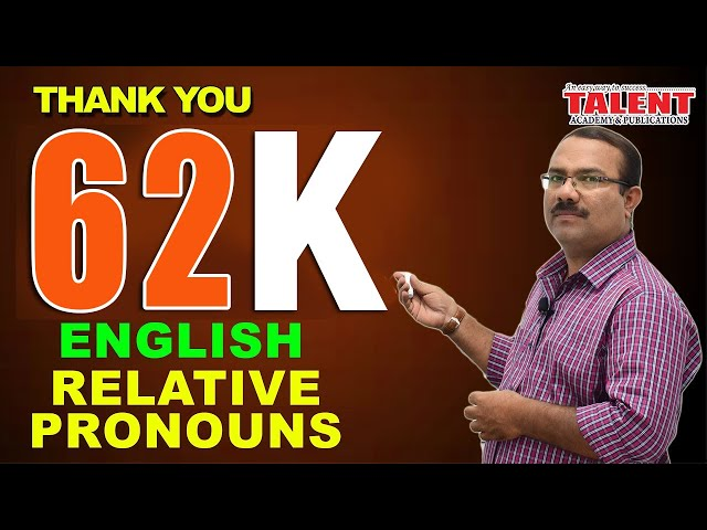KERALA PSC | ENGLISH GRAMMAR TRICKS | RELATIVE PRONOUNS-PART 1