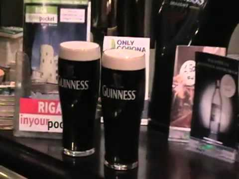 Beer Tasting In Irish Pub