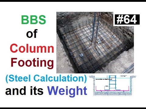 Trapezoidal Footing steel Binding & casting    Important knowledge