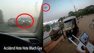 Vlog-20 Kolhapur Driving License trail And Dji phantom pro 4 fly in kolhapur