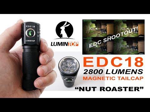LUMINTOP EDC18 review