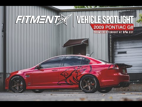 Vehicle Spotlight-2009 Pontiac G8 on Ferrada Wheels