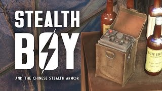 All About Stealth Boys - Fallout 4 Lore - Plus, the Chinese Stealth Suits
