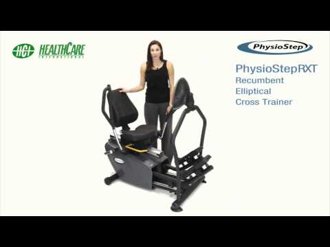 New PhysioStep MDX - Recumbent Elliptical Cross Trainer with Swivel Seat
