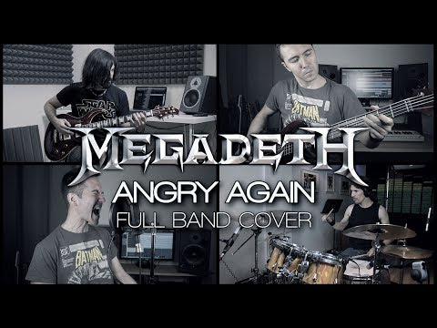 Megadeth - Angry Again (full band cover)