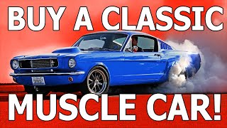 ???? 5 Reasons You Should Buy a Classic Muscle Car | 4K FPV