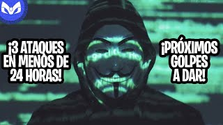 REGRESA ANONYMOUS Y DA 3 GRANDES GOLPES!!!!!!!!