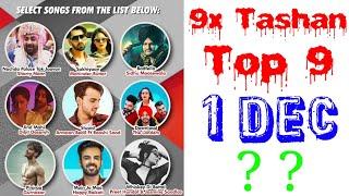 9x Tashan Top 9 Songs Of This Week- Dec 1, 2018   Latest Punjabi Songs 2018  