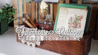 SUMMER DECORATE WITH ME 🧺 | Farmhouse Cottage Style | Styling Thrifted Finds