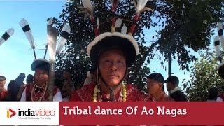 Tribal dance of Sumi tribe