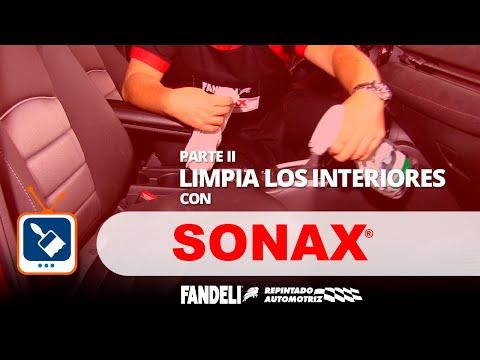 Limpia los interiores de tu auto con SONAX