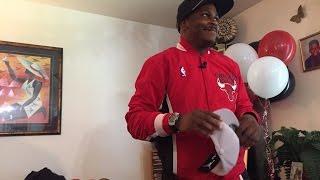 Michael Jordan Surprises Biggest Fan