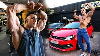 SHOULDERS & ARMS | NEW CAR & Serious Sleeping Problems... | Hardbody Shredding Ep 22