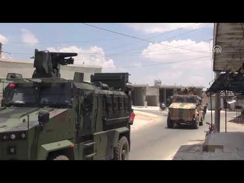 TSK'den İdlib'deki gözlem noktalarına lojistik destek
