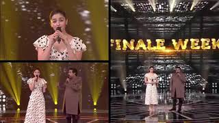 "Cute  Alia  is singing  'AE  WATAN WATAN  ...."" Raazi movie...."