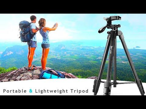 Штатив Lusweimi 530 для фото и видео съёмки / Tripod for photo and video shooting
