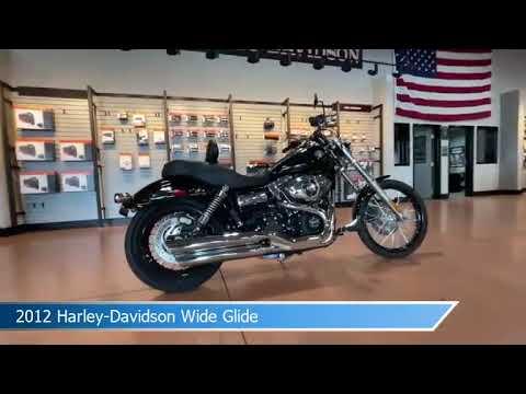 2012 Harley-Davidson Dyna Wide Glide FXDWG 103