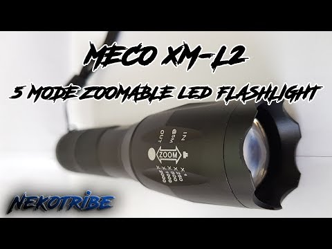 MECO XM-L2 Torcia LED zoommabile by Banggood - Recensione