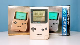 Unboxing The 1998 Nintendo GameBoy Light!