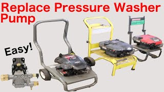 How To Replace A Pump On A Pressure Washer