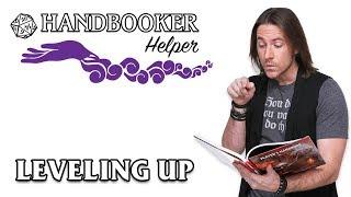 Handbooker Helper: Leveling Up