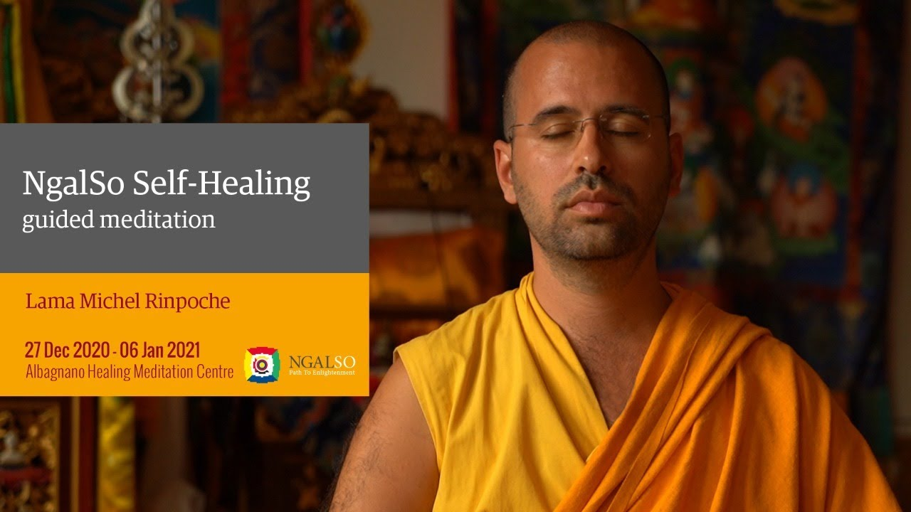 3rd Jan. WINTER RETREAT - Ngalso Self-Healing guided meditation by Lama Michel Rinpoche