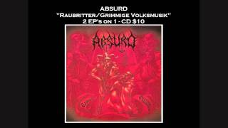 ABSURD (Germany) - Raubritter (Promo Video)