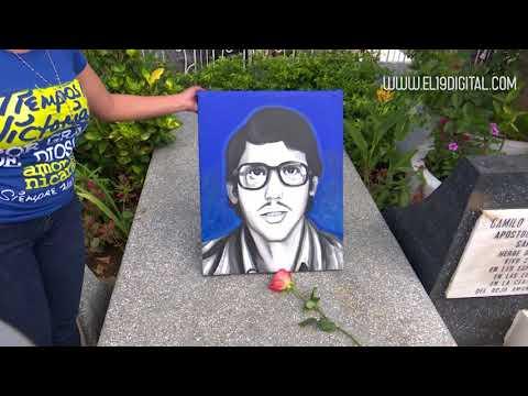 Juventud sandinista rinde homenaje a camilo y héroes de san josé de las mulas