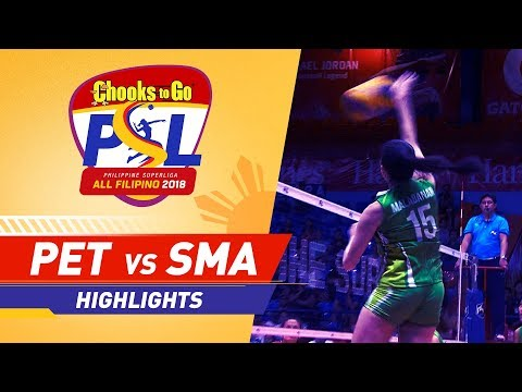 [Sport5]  Highlights: Petron vs. Smart | PSL All-Filipino Conference 2018