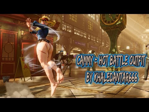 Street Fighter V PC mods - FELICIA by Khaledantar666 - смотреть